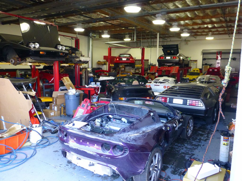 many cars in their shop