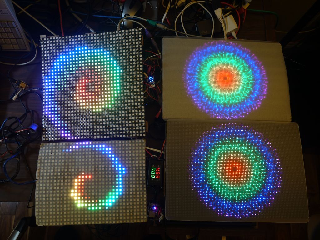 Marc's Blog: arduino - FastLED_SPITFT::GFX on top of