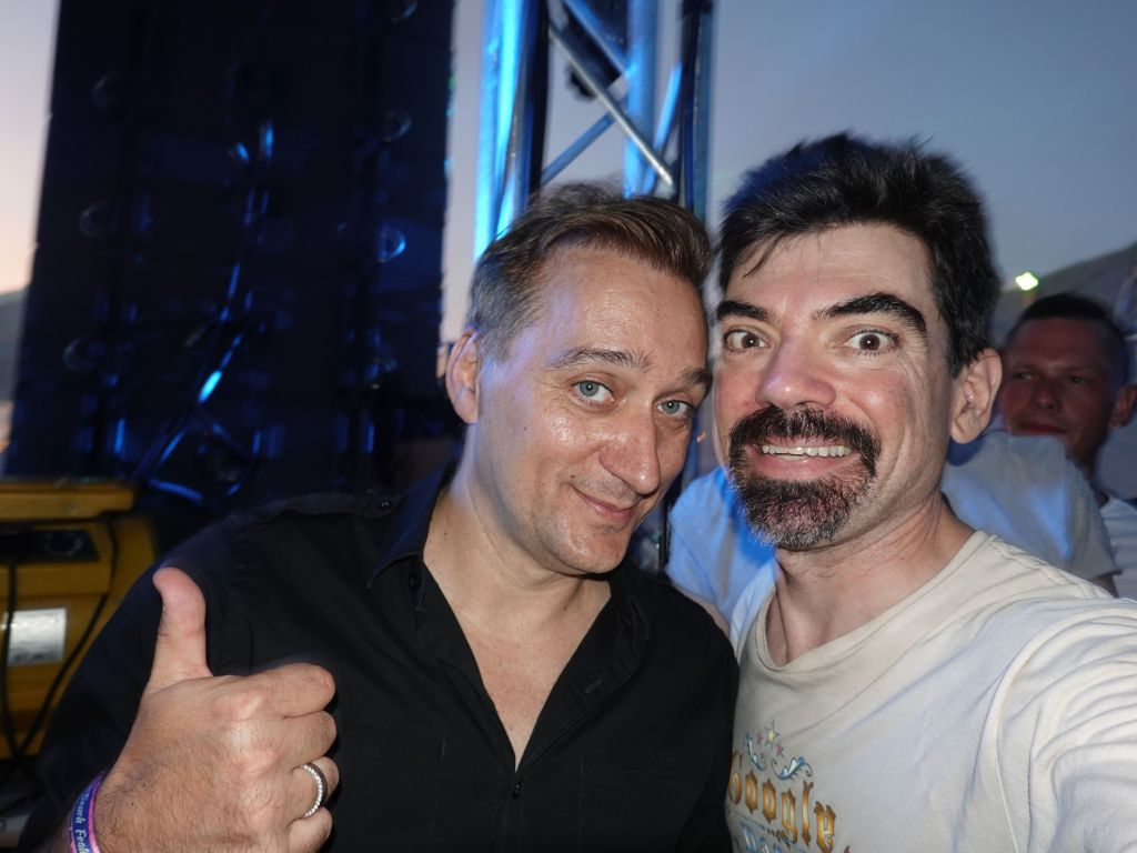 Paul Van Dyk, after so many years!