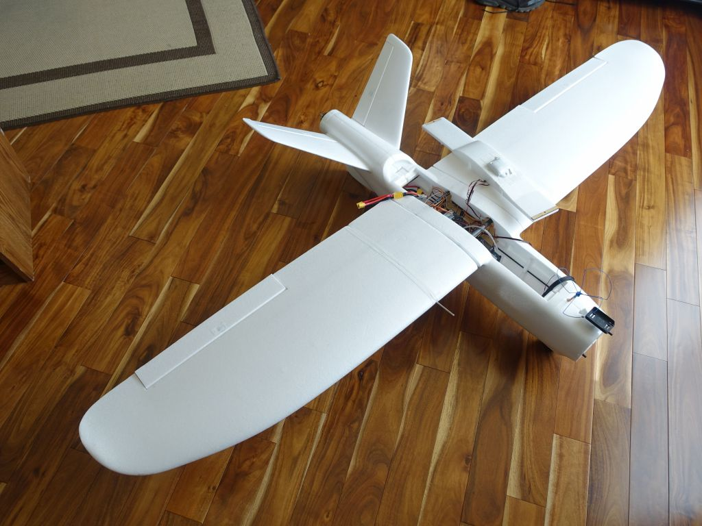 My X-UAV Talon with pixhawk I setup flaperons on