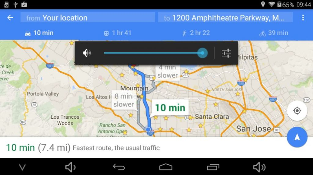 technically google maps works, but it's so slow, it's barely usable. And without a good GPS, what's the point?