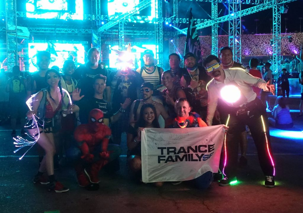 met some fellow Trance Family SF on day #3