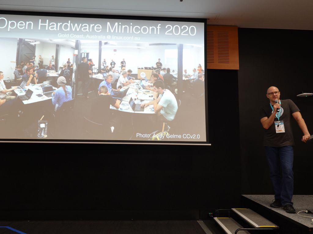 Jon, presenting the miniconf as per how many