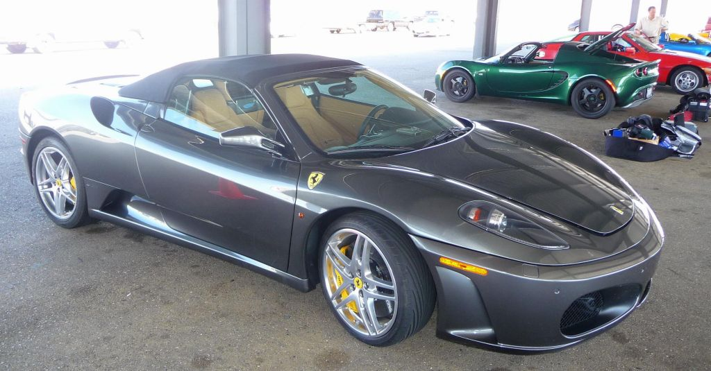 F430 with carbon brakes
