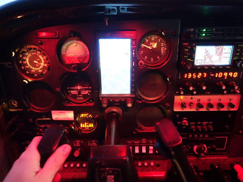 new avionics in an old C182