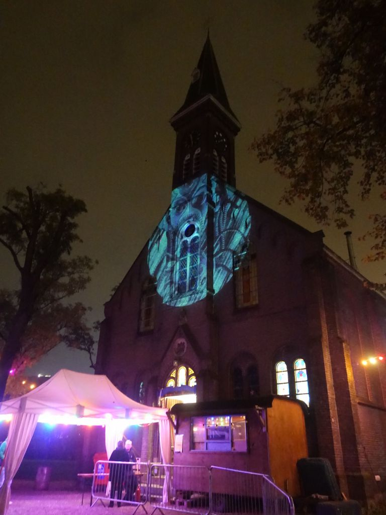 a church turned night club, that was a new one for me...