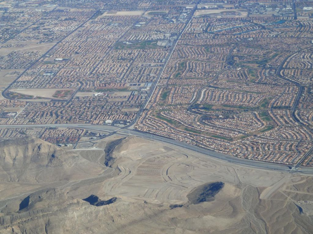 Vegas Suburbs, including a new one being built