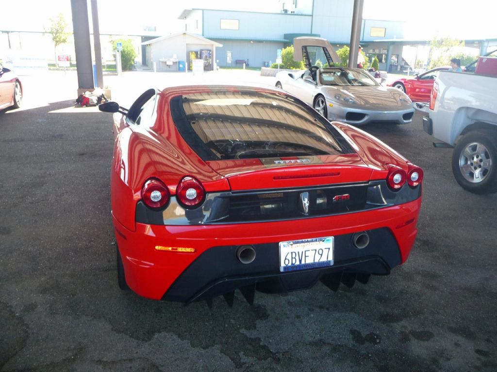 A few F430 scuderias were there