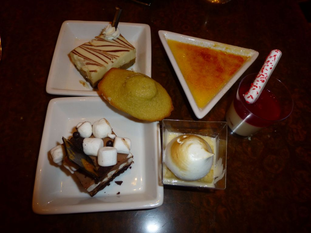desserts are the best part :)