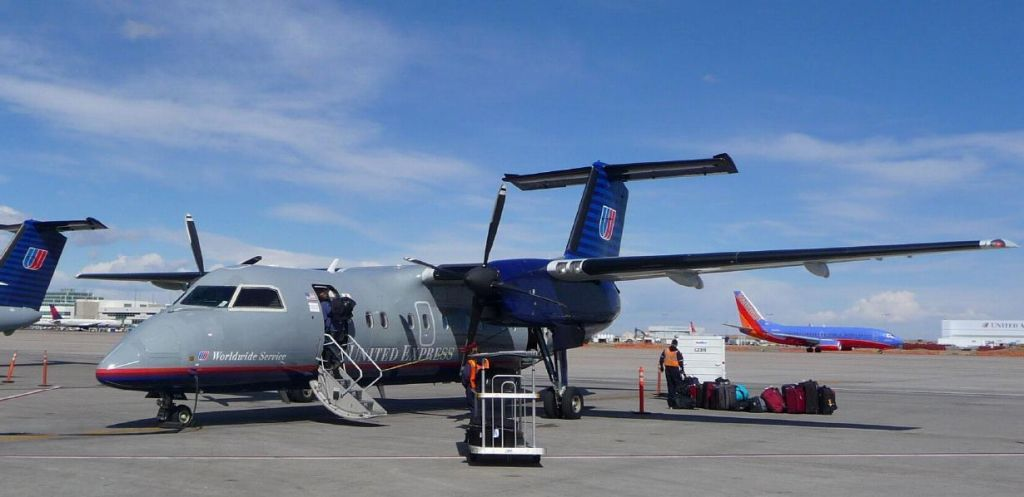 durango is a small airport mostly served by turboprops