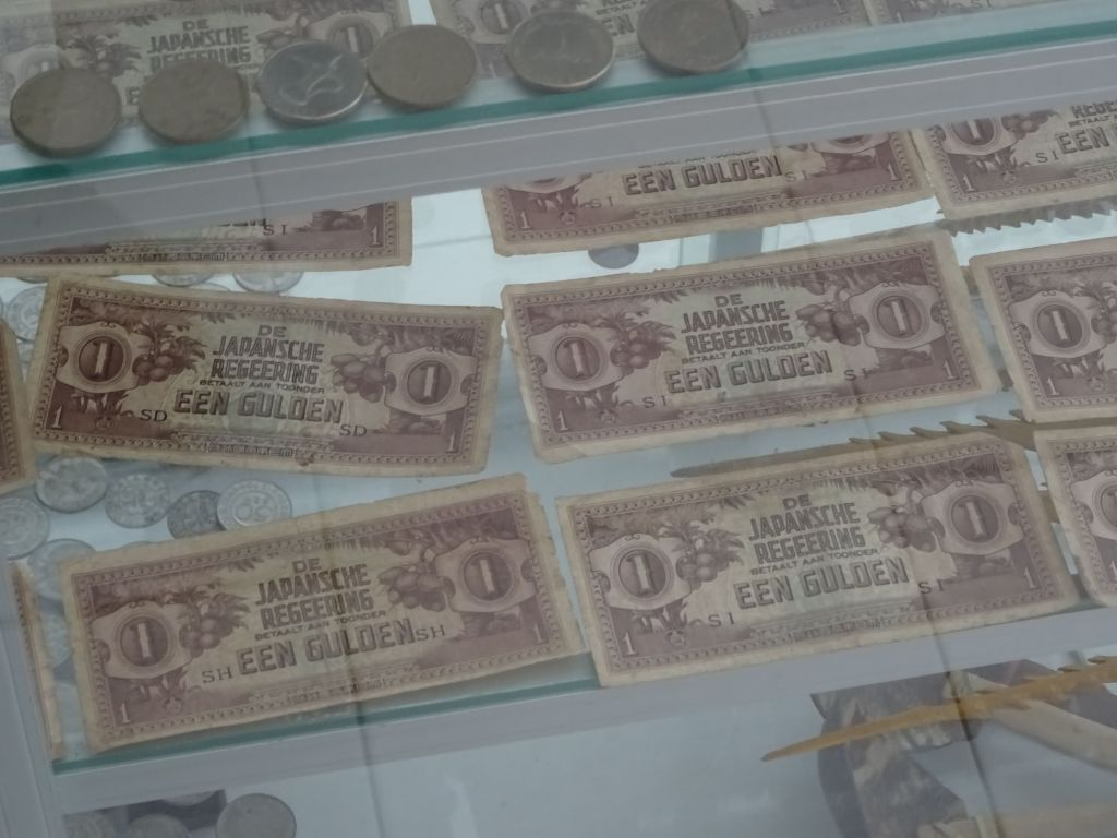 Japanese-Dutch money from the Japanese occupation