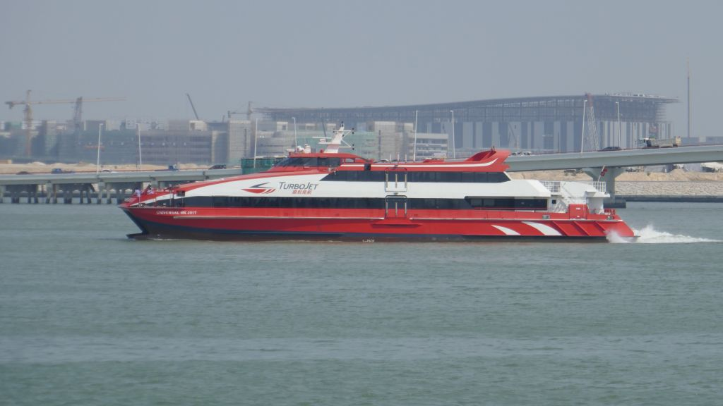 Turbojet is the competing company to Cotai Jet, the one we took back to HKG 2 days later