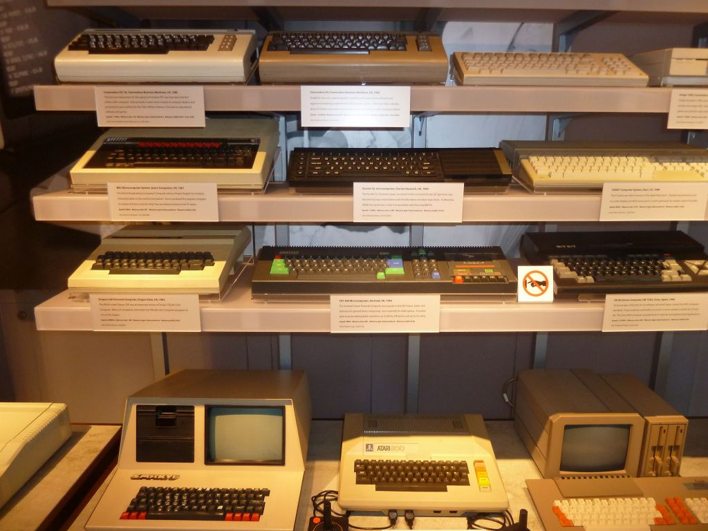 Eh, our Amstrad CPC 464 is there :)