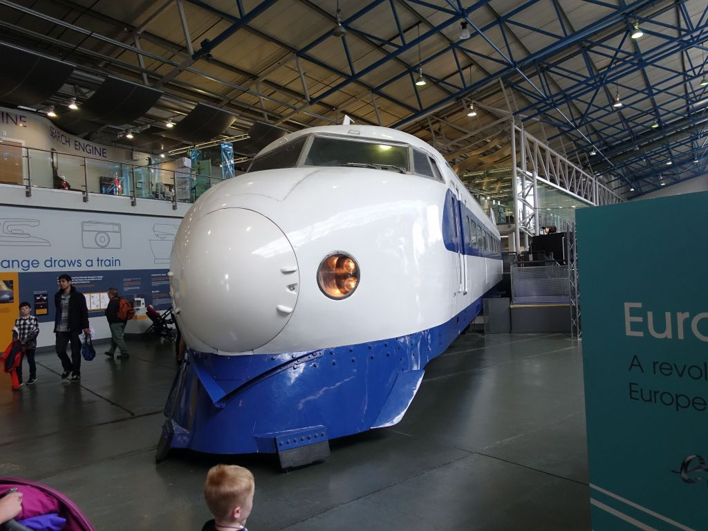 they had an original japanese bullet train