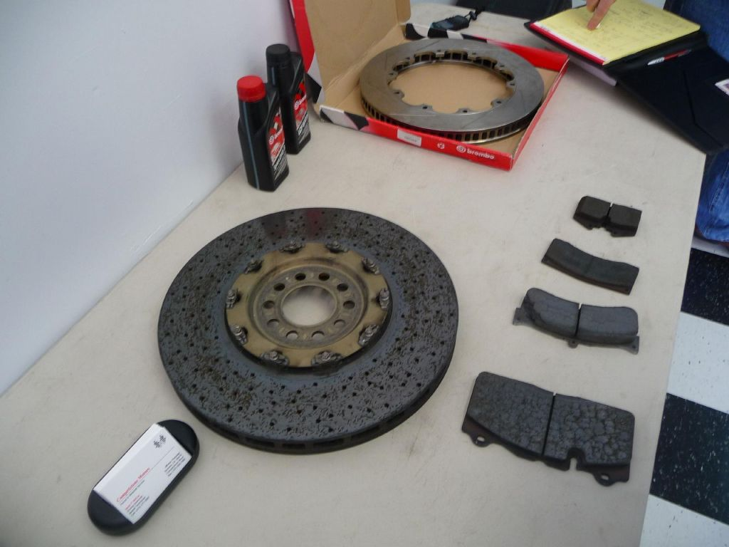 carbon brakes vs older regular pads
