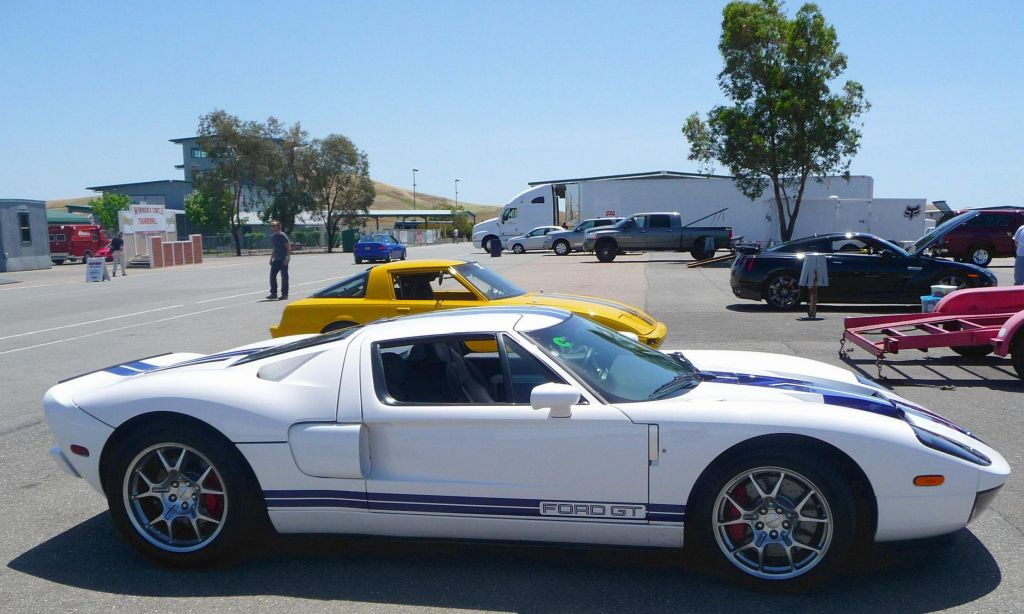 the Ford GT was back too