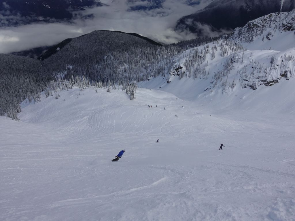 north bowl was actually good for 2 runs, but the bottom was very painful :(