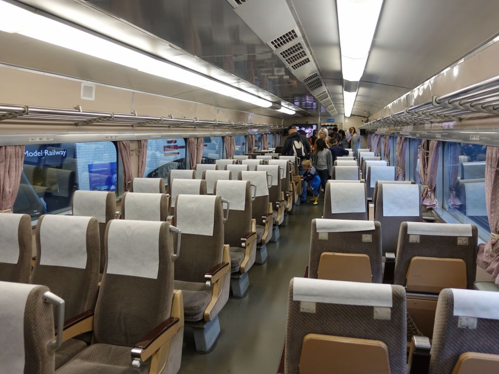 that original train was very spacious inside, probably too much so for real speed