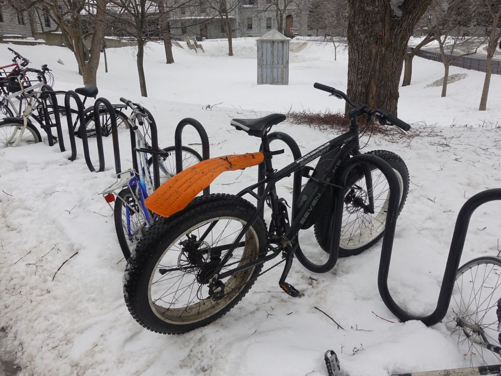 you can still bike in winter