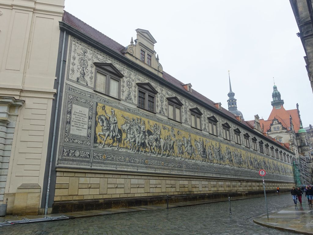 Art wall on fuerstenzug