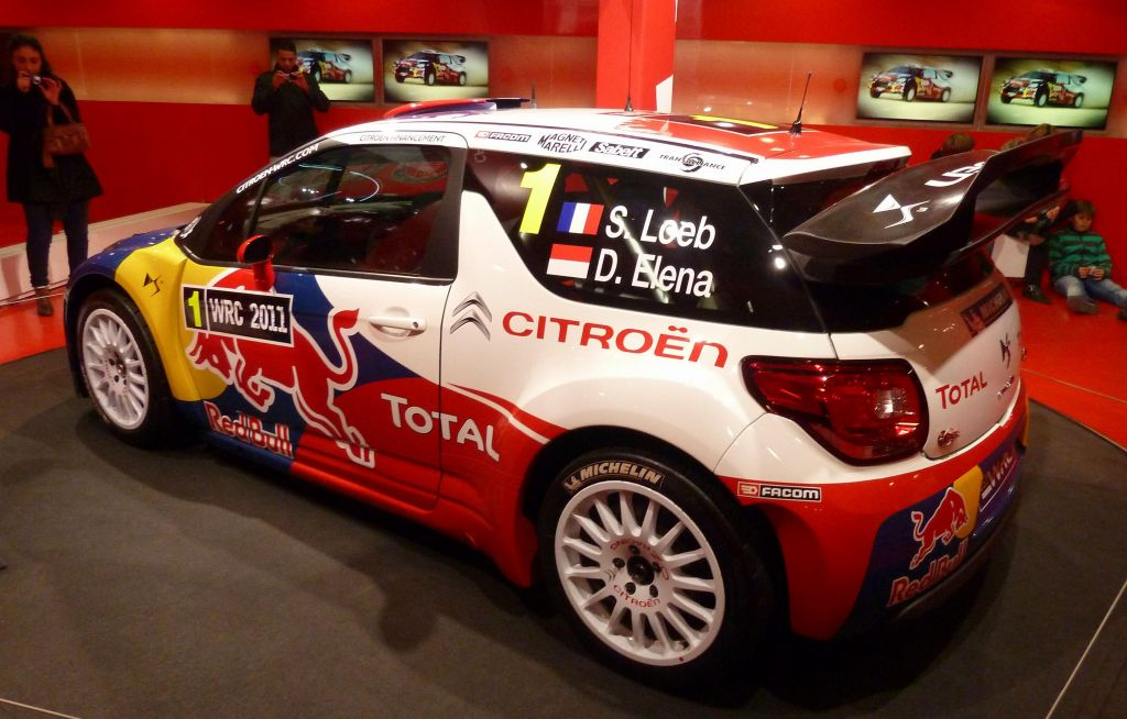 the many year winning WRC champion car, cool
