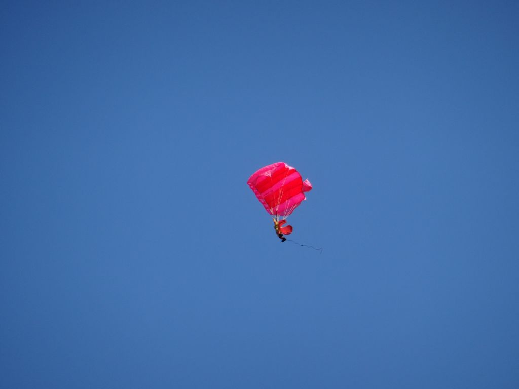 One plane even launched a parachute :)