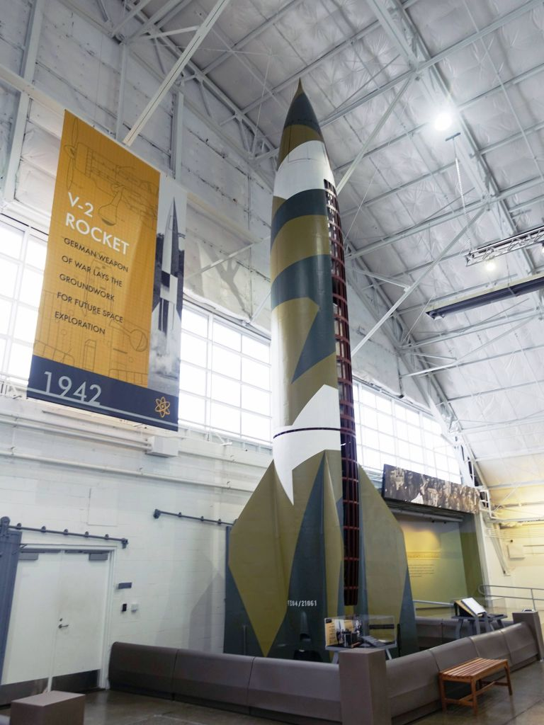 Great to see a reminder of how big the V2 rocket was