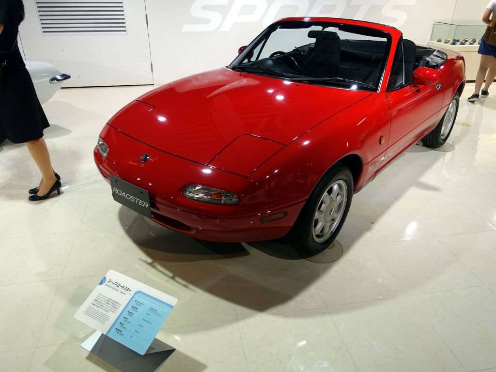 the original miata, I had the second generation of this