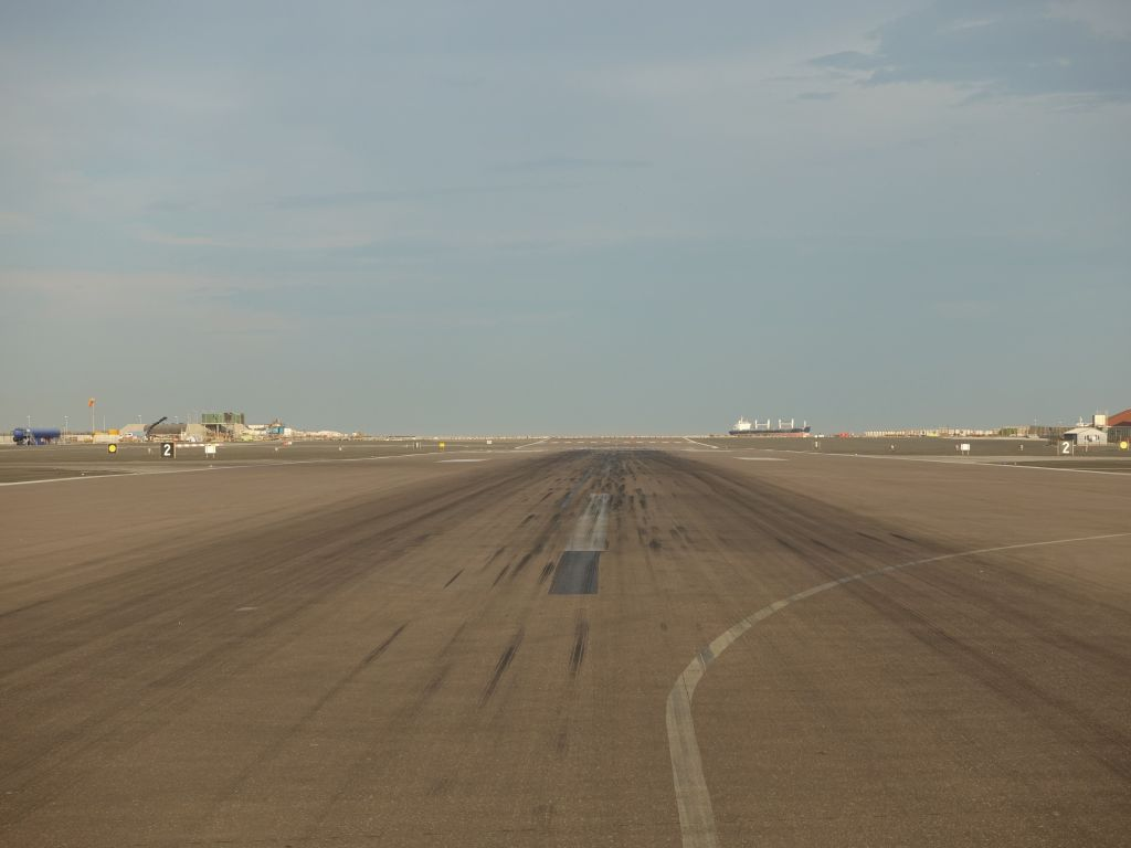 fun to walk it and see the runway like this