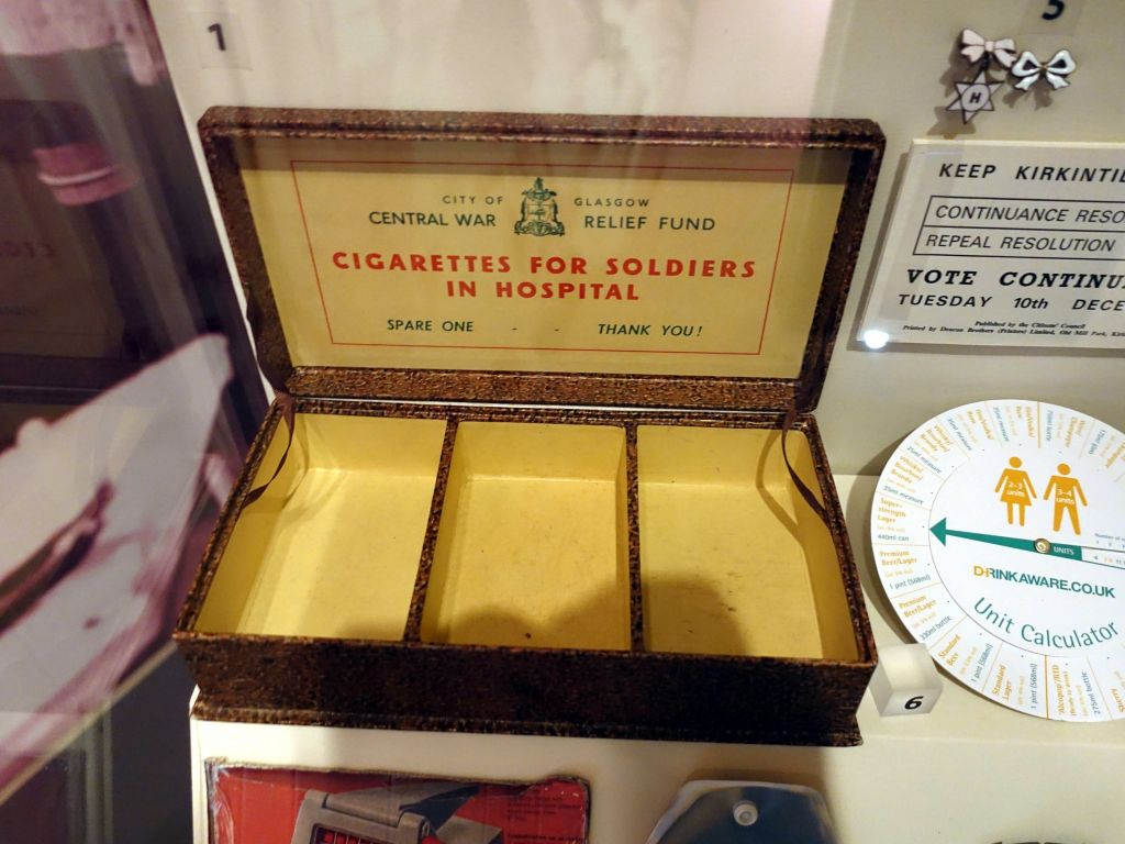 cigarette for soldiers in hospitals, brilliant!