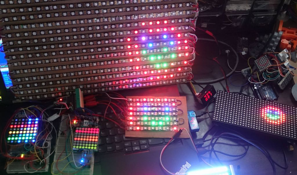 Marc's Blog: arduino - Adafruit GFX on NeoMatrix and RGB Matrix
