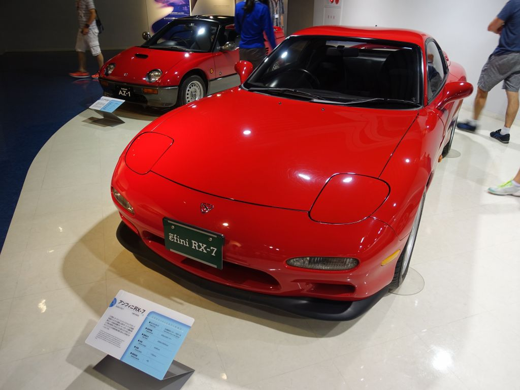 The RX7 gen2 was a beautiful car