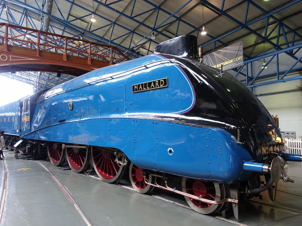 Mallard, fastest steam train in the world at the time