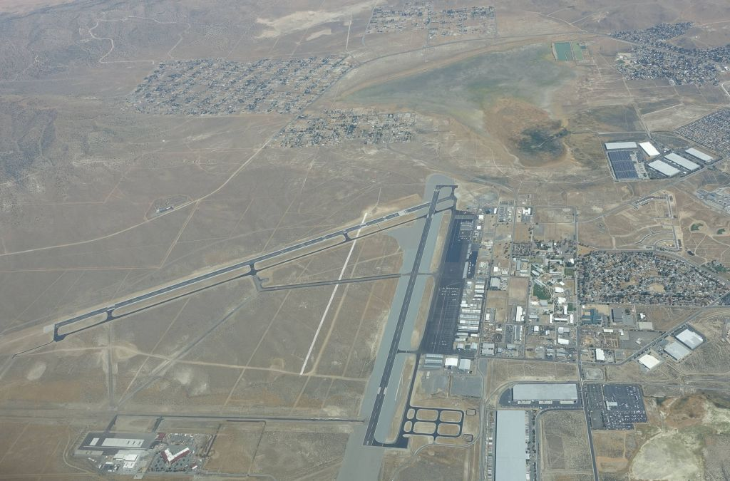 Reno Stead, where the Reno Air Races take place