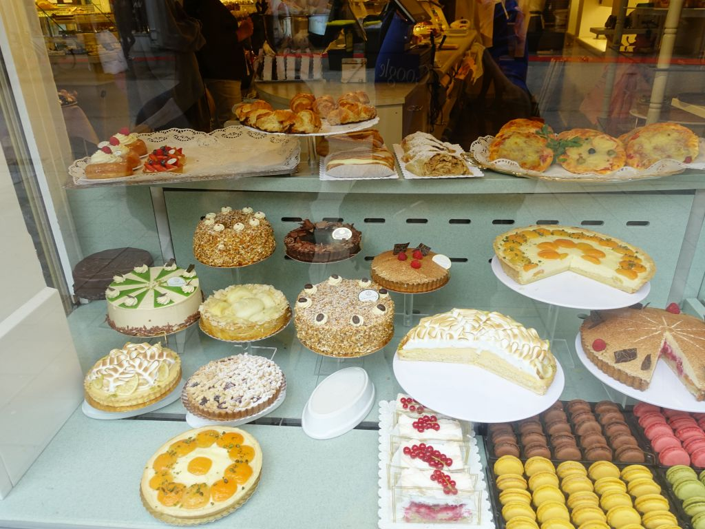 although I had to stop at this bakery on the way :)