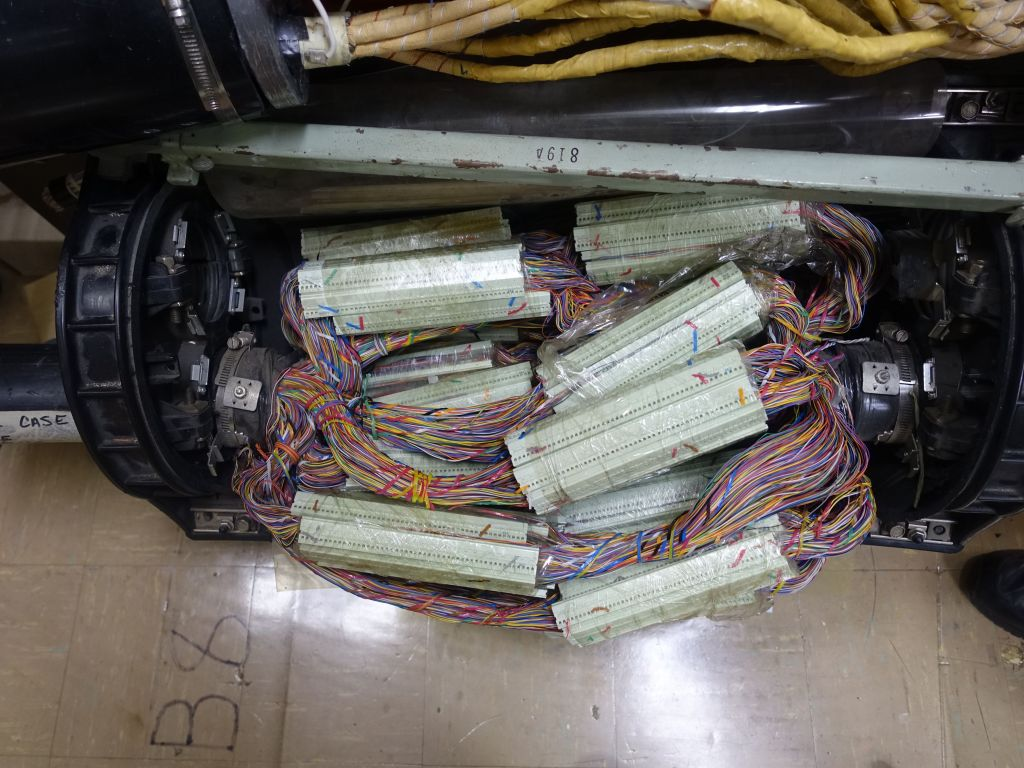 it's fun to hand connect a thousand+ phone lines by hand in a conduit