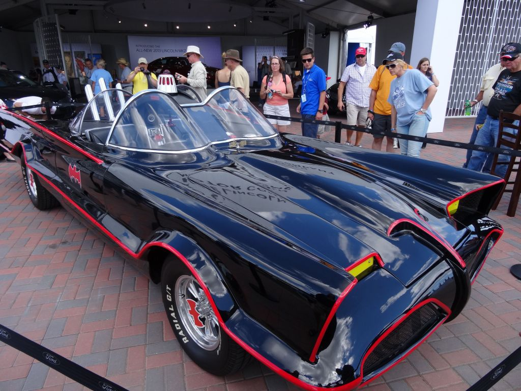 original car from Batman and Robin