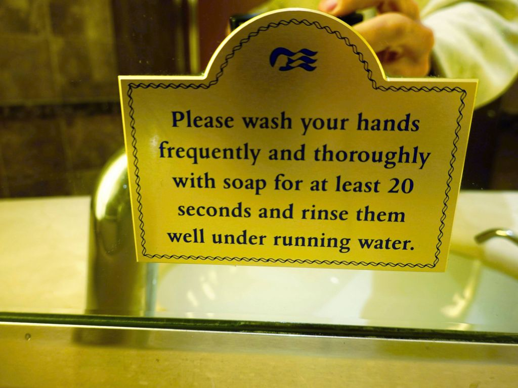 they were quite good about trying not to spread germs and get everyone sick