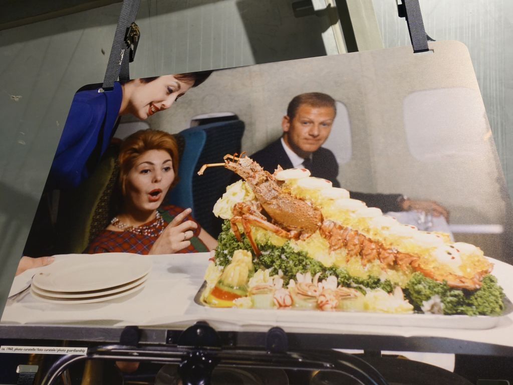 nice plane food back then