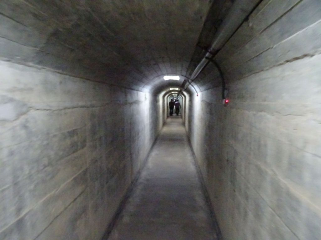 more long underground tunnels to avoid artillery