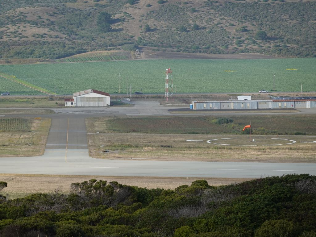 poor Half Moon Bay airport, not getting much use with Covid-19