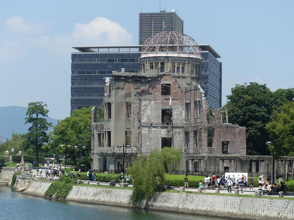 welcome to Hiroshima, this is the famous building that partially survived the blast