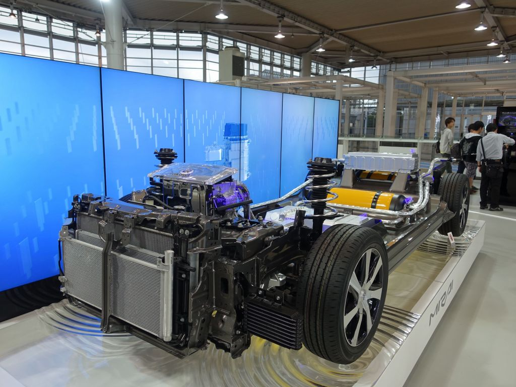 new fuel cell hydrogen cars