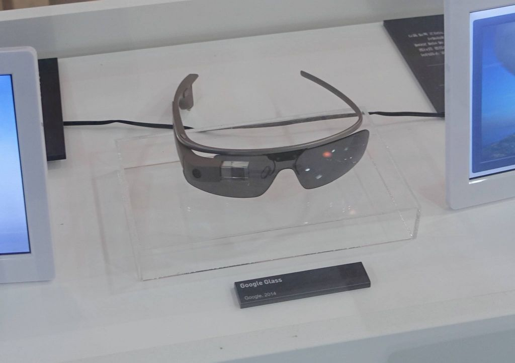 they even had google glass