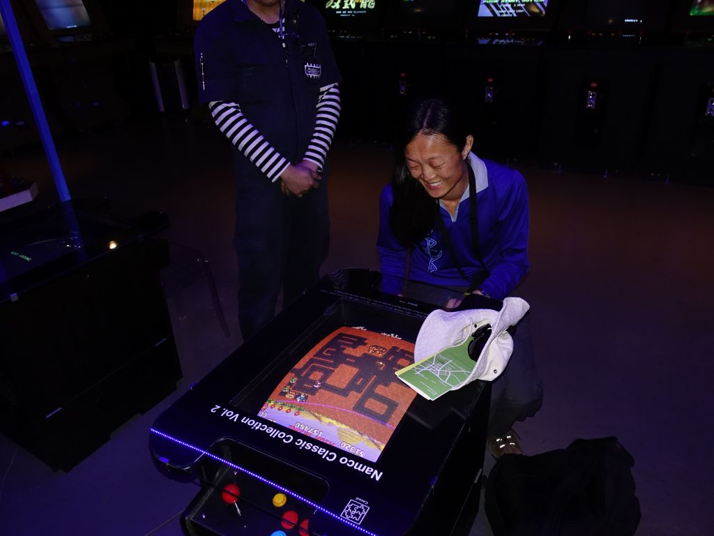 During that time, Jennifer went to study arcade games :)