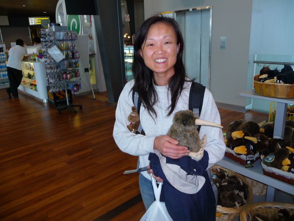 Jennifer got to see at least one Kiwi :)