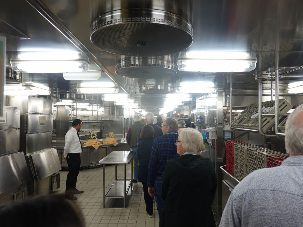 we also got a tour of the kitchen