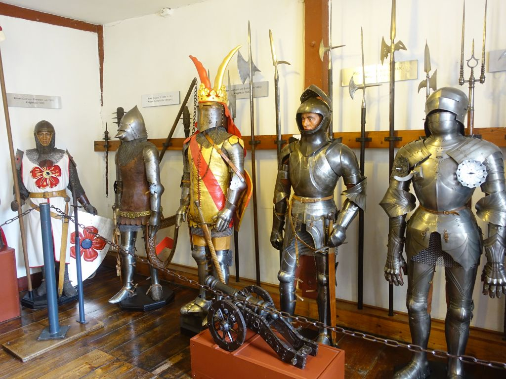 the armours could weigh up to 50kg