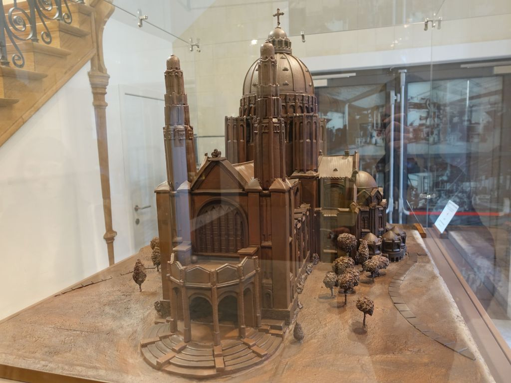 fantastic model of the basilica