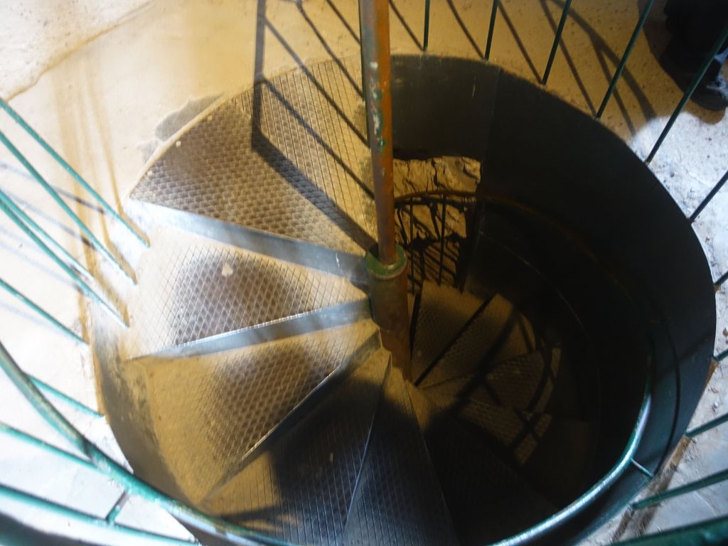 stairs to the top of the tower